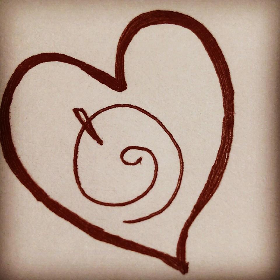 heart scketch